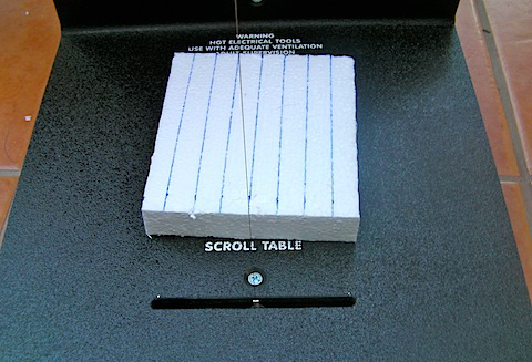 Scroll table cut