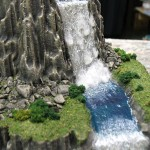 Miniature Cliff Waterfall