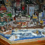 Village Display shoreline with whitewash