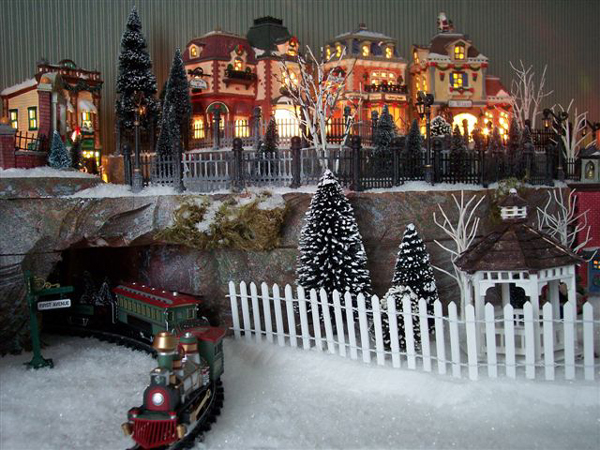 Christmas Village Display.Department 56 Christmas Village Display Ideas Water