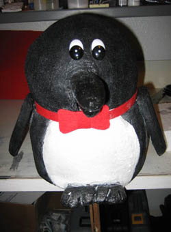 foam penguin
