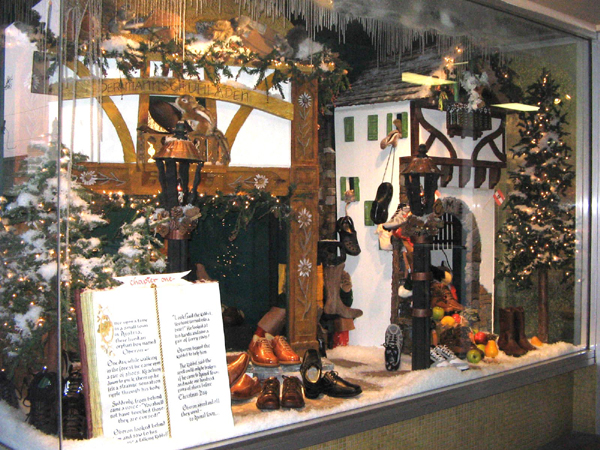 Christmas Store Display