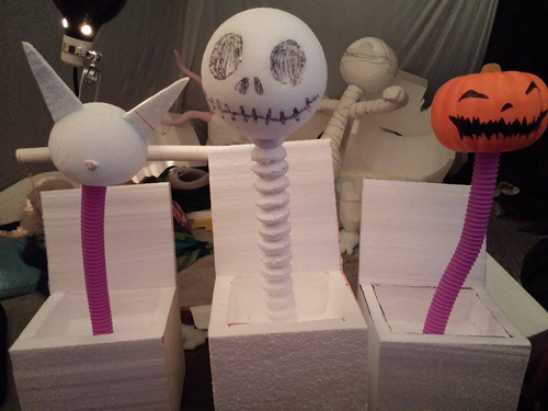make your own Nightmare before Christmas sculpture