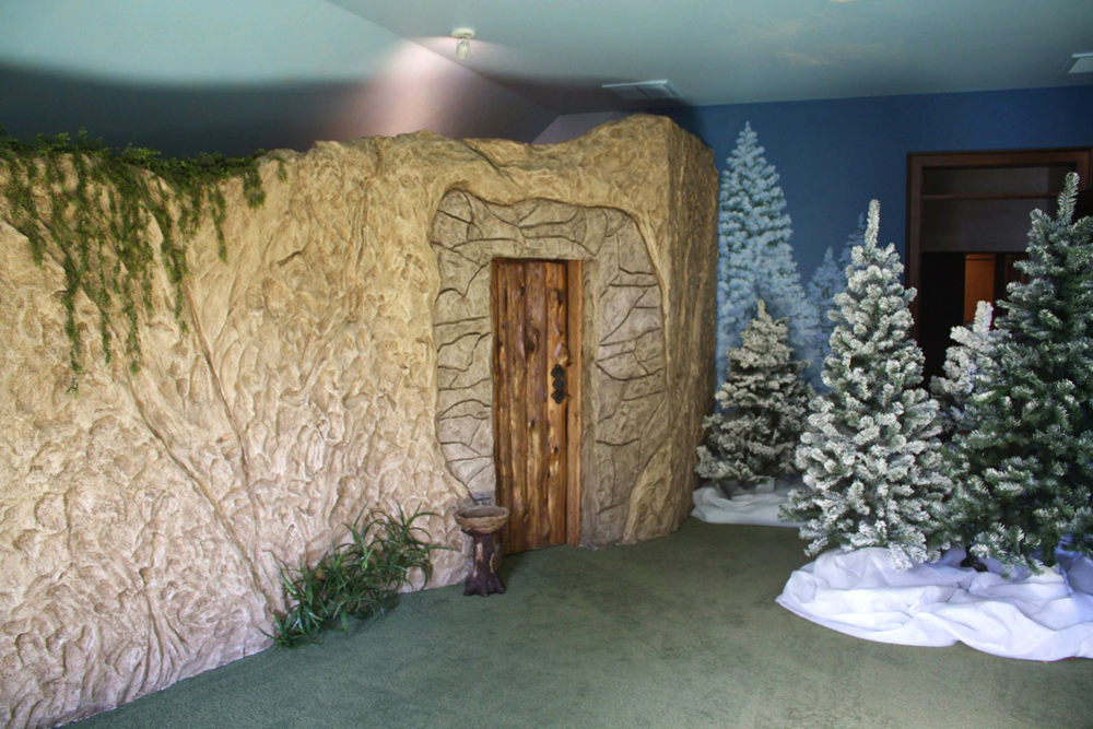 Narnia Themed Playroom Hot Wire Foam Factory