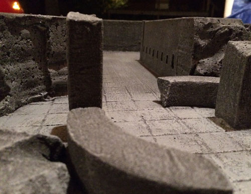dungeons and dragons miniature terrain