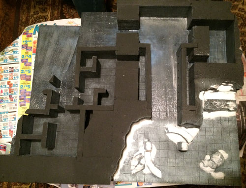 Terrain for tabletop miniatures