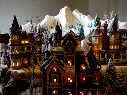 Department 56 snow village