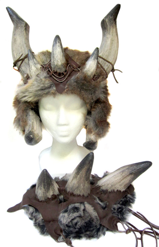 Girls viking helmet for cosplay