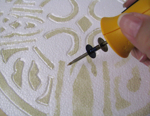 Hot Wire Foam Factory Engraving tool