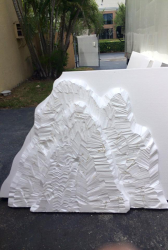 Build your own foam stage