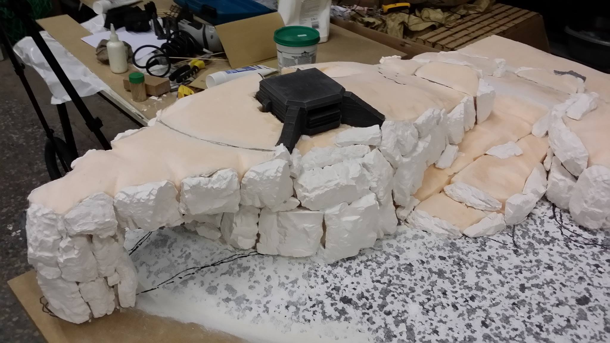 DIY miniature terrain