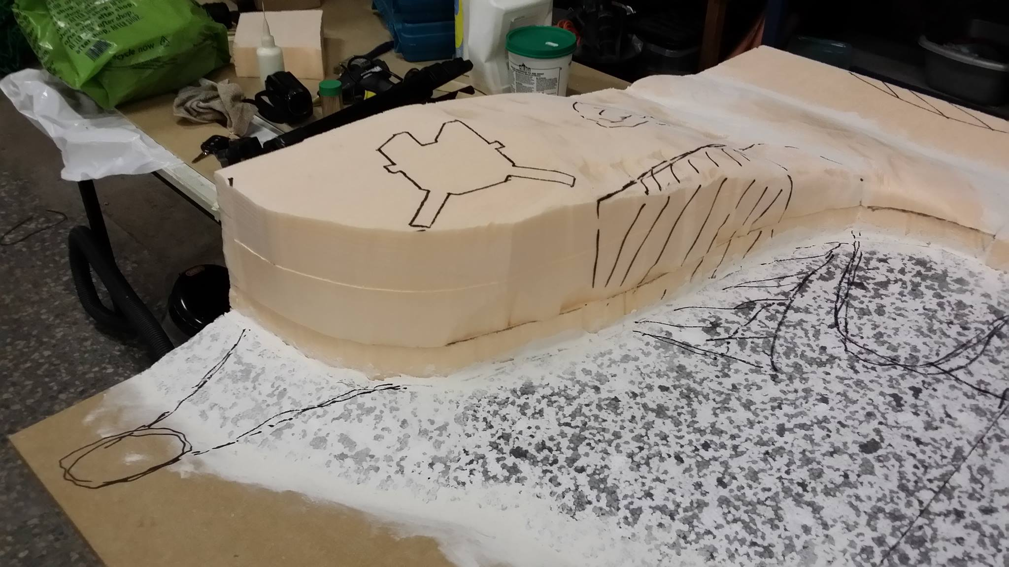 Create your own miniature gaming terrain