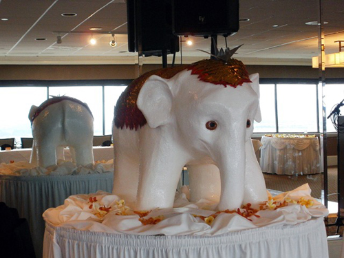Wedding Elephant Centerpeice