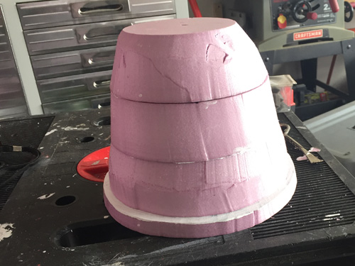 Foam Bell for tombstone contest