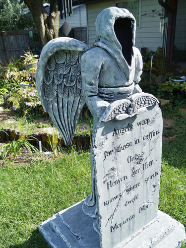 Angel of death tombstone