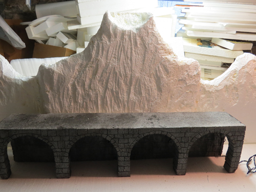 Department 56 sculpting mountains
