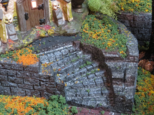 Creating life like stairs for model villages