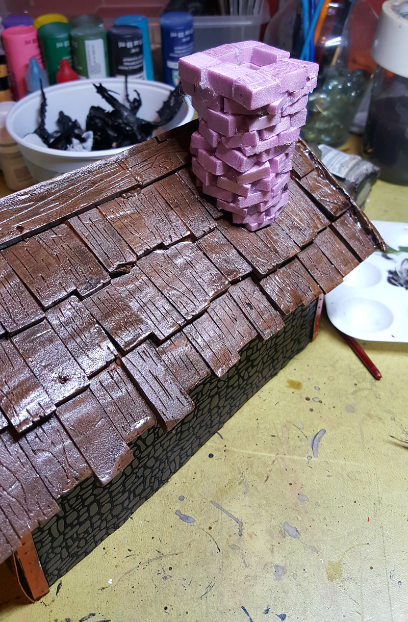 Tabletop Miniature Gaming Homestead Hot Wire Foam Factory