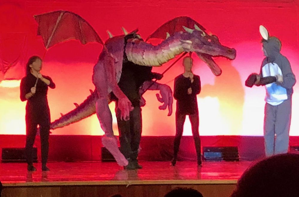 Dragon Puppet For Shrek The Musical Hot Wire Foam Factory