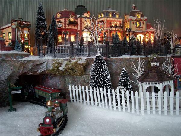 Department 56 Christmas Village Display.Christmas Village Display Ideas Photos Zef Jam